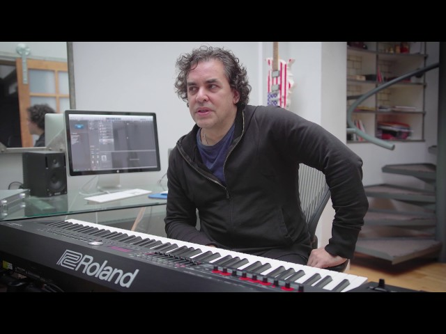 Peter Gordeno's impression for the Roland RD-2000