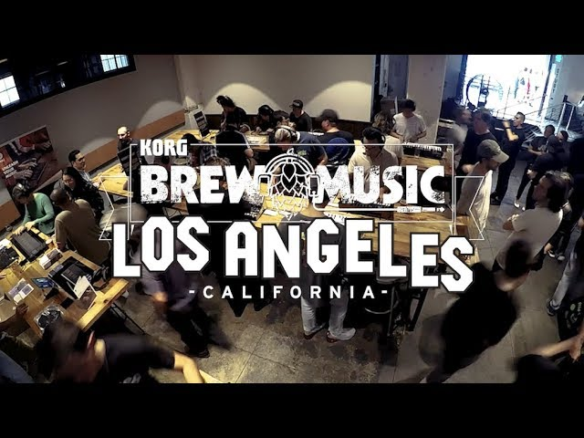 Brew Music with Korg: Arts District Brewing Co. of Los Angeles, California
