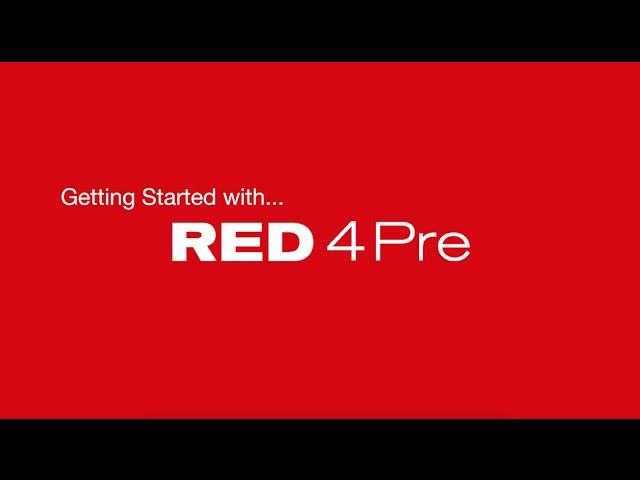 Focusrite // Getting Started with the Red 4Pre - Video 2: Overview