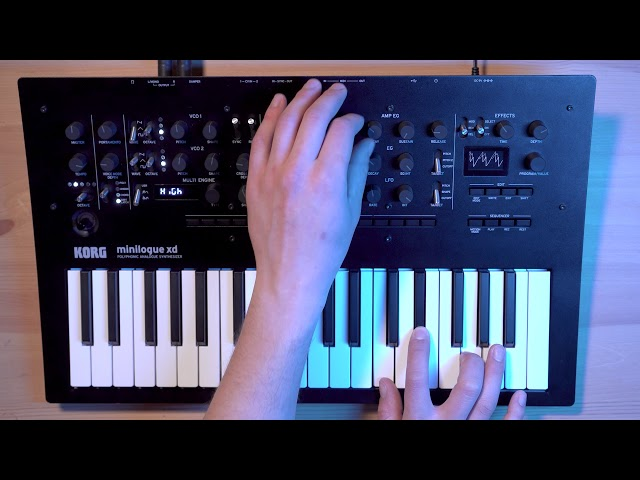 minilogue xd Tutorial/How-to 4: Sequencer, Voice Modes, and Performance Features