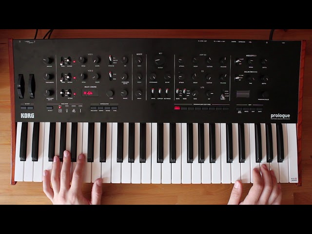 Patch of the week 18: Sound-on-sound Looping with Korg prologue