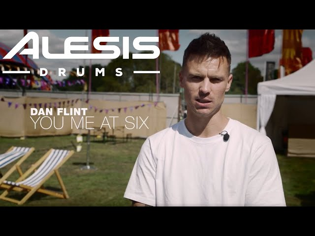 Dan Flint of You Me At Six on the road with the Alesis Strike MultiPad