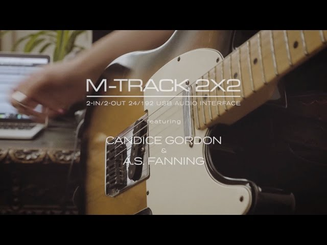 M-Track 2X2 feat. Candice Gordon & A.S. Fanning