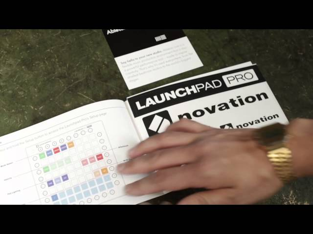 Novation // Getting Started with Launchpad Pro - Video 1 - In the box