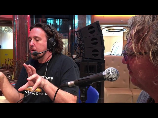 Eddie Trunk Interviews Dave Kerzner on Cruise To The Edge with Yes