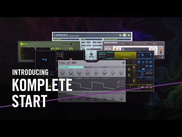 Introducing KOMPLETE START – For the Music in You | Native Instruments