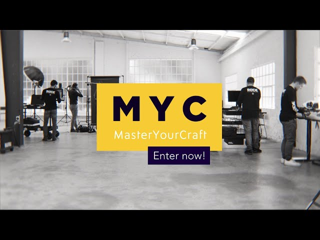 Master Your Craft | Entries Now Open