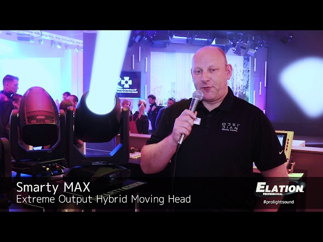 Elation Professional - Smarty Max @ prolight+sound 2109