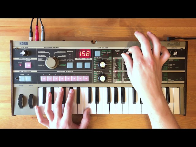 Patch of the Week 23: microKORG 8-bit Video Game Arps