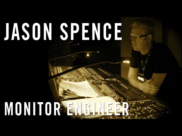 "Jason Spence - The Shure ""Behind The Board"" Interview"
