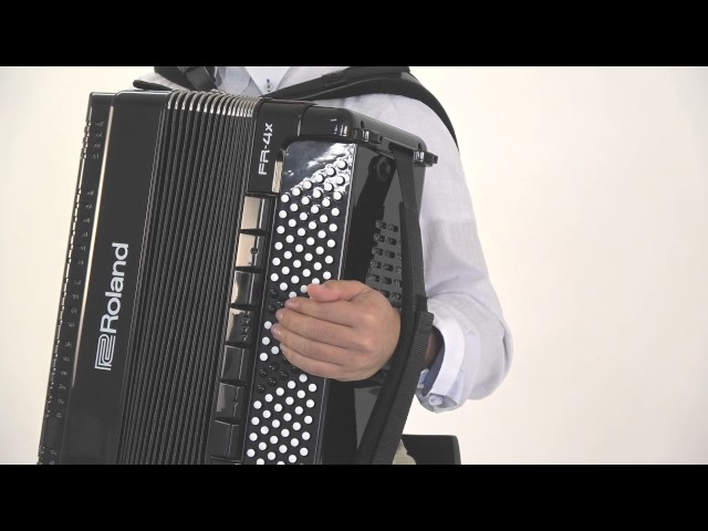 "Roland FR-4x/FR-4xb V-Accordion ""Adjusting the Sensitivity of the Bellows"""