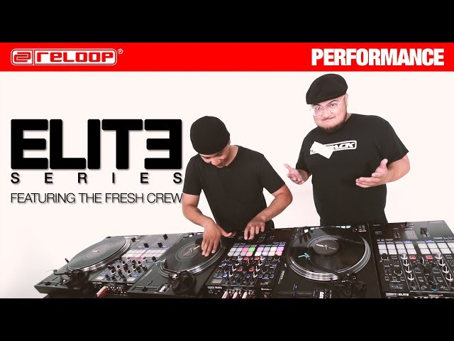 Reloop RP-8000 MK2 & ELITE feat. The Fresh Crew (Performance)