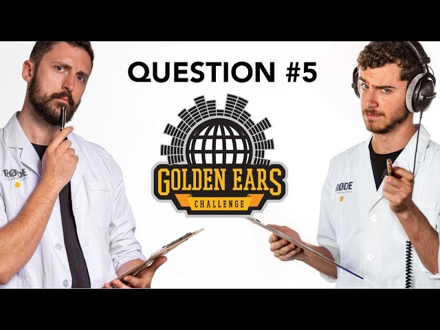 Which Clip Was Recorded Using a Furry Windshield? | 'Golden Ears' Challenge - Question 5