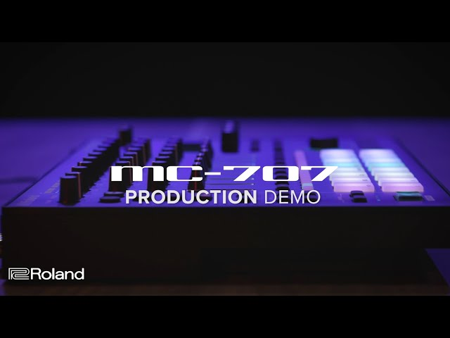 Roland MC-707 GROOVEBOX: Production