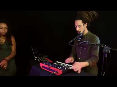 "Dean Forrest and Adjua from ""Back Beat Sound System""  create with KORG"