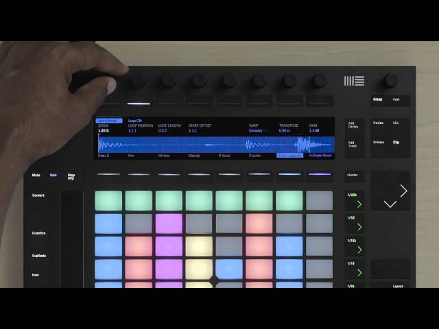 Ableton Push 2 – How Clips Work On Push