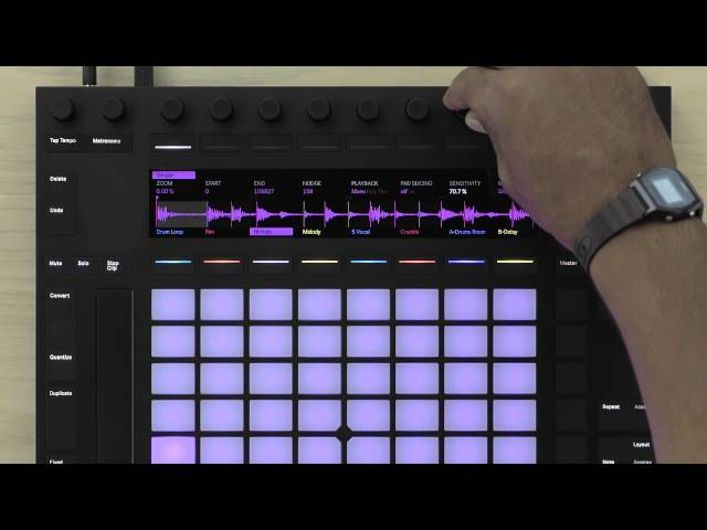 Ableton Push 2 Tutorial – Sampling Workflow Overview