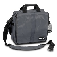 UDG Ultimate CourierBag DeLuxe Steel Grey, Orange Inside - UDG Ultimate CourierBag DeLuxe Steel Grey, Orange Inside, Сумка для виниловых пластинок.