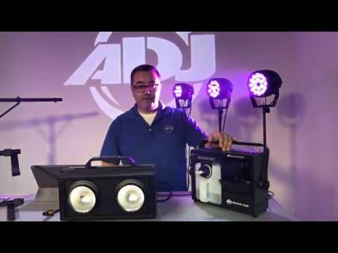 Facebook Live: ADJ's DJ Expo 2018 Product Preview