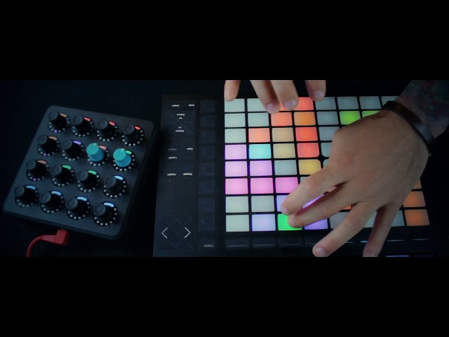 Routine: BigJerr on Midi Fighter Twister +  Push 2