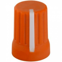 DJTT Chroma Caps Super Knob Neon Orange по цене 160 ₽