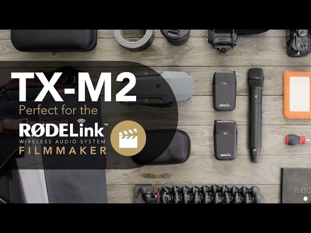 Capturing Interviews with the RØDE TX-M2 Wireless Microphone
