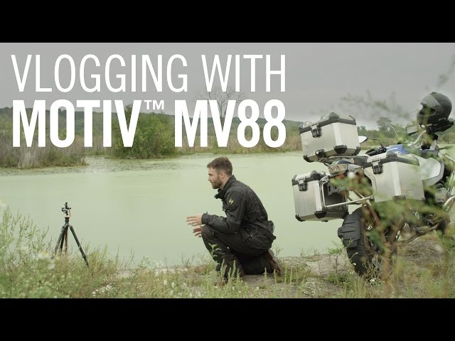 Vlogging with Shure MOTIV™ MV88 iOS Microphone