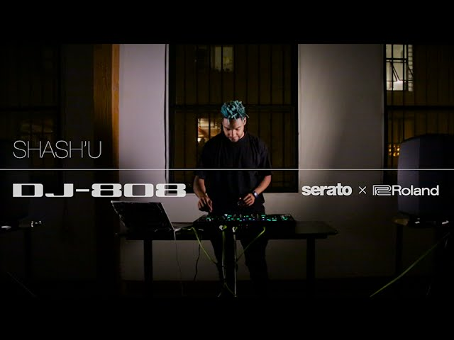 Shash'U plays the Roland DJ-808