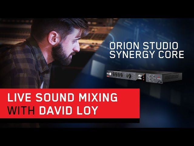 David Loy (FOH Engineer for Kane Brown) on Live Sound Mixing with the Orion Studio Synergy Core