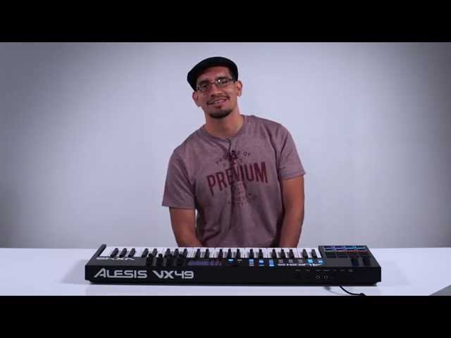 Alesis VX49 Introduction with Alex Solano