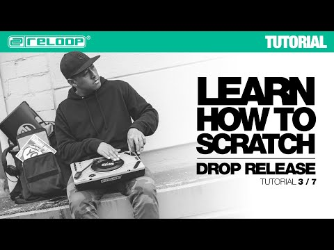 Learn how to Scratch with DJ Angelo: Drop / Release (Reloop SPIN Tutorial 3/7)