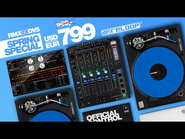 Reloop RMX-90 DVS -  Digital High Performance DJ Club Mixer For Only 799 €