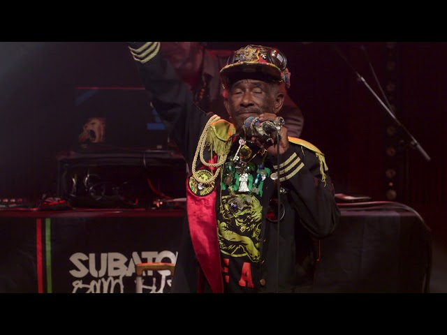 Lee Scratch Perry & Subatomic Sound System: 'Sun is Shining' live | Loop