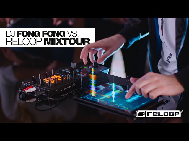 DJ FONG FONG vs. Reloop MIXTOUR: Performance with djay on iPad