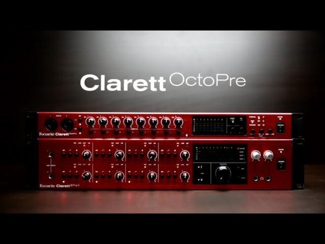 Focusrite  // Clarett OctoPre - Getting started
