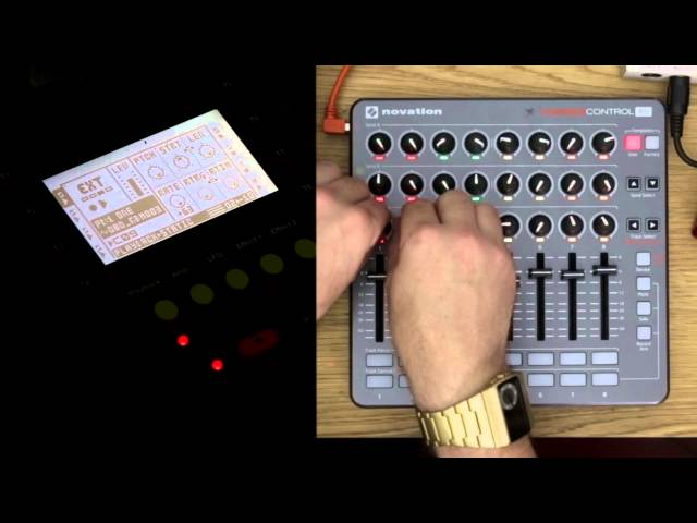 Novation // Launch Control XL - Standalone Hardware Synth Control