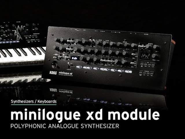 KORG minilogue xd Module: Your Desktop, Evolved.