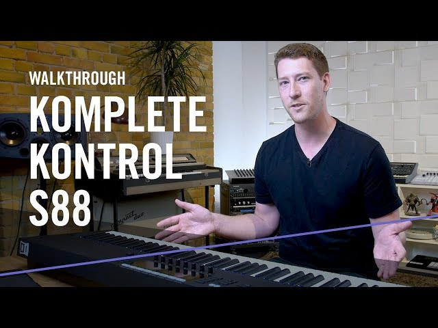 See what's new in KOMPLETE KONTROL S88 | Native Instruments