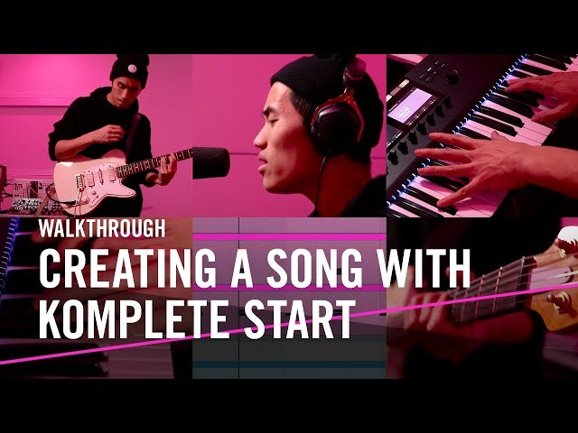 "Andrew Huang: Creating ""Yours"" with KOMPLETE START 