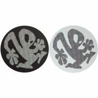 Slipmat-Factory PLASTICMAN Dots Black-White Slipmats (Пара) по цене 1 240 руб.
