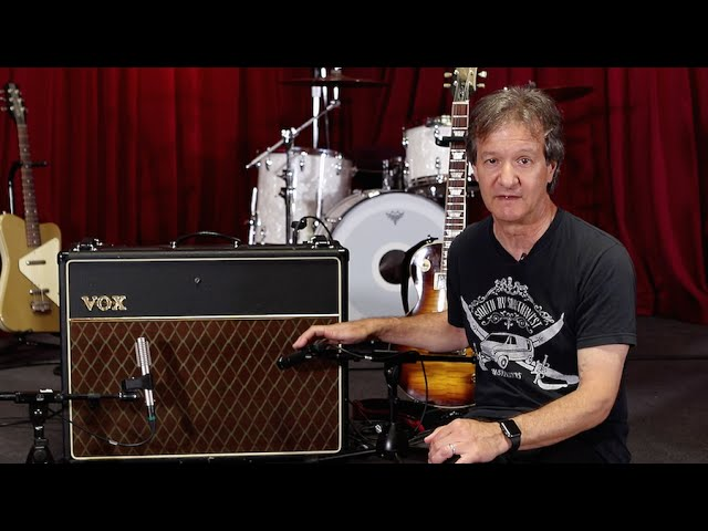 How to record an electric guitar amp - Part 2 (Feat. Bob Clearmountain)