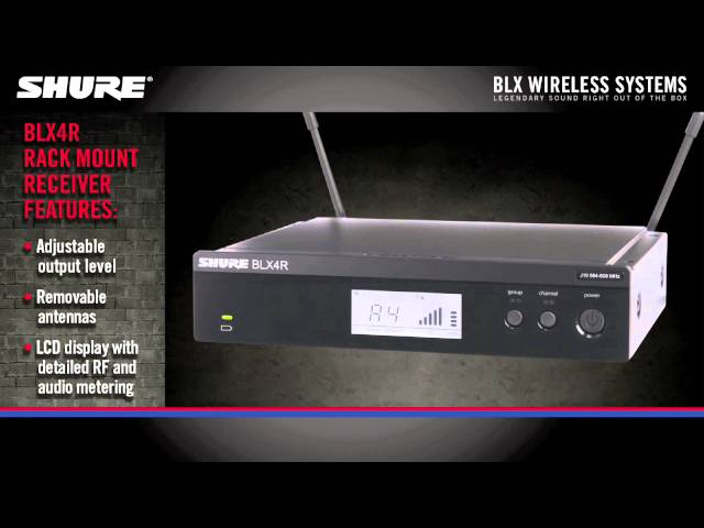 Shure BLX Wireless Product Overview