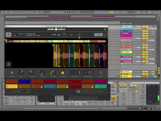 Getting started with Serato Sample in Ableton Live