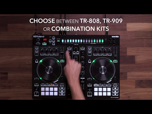 Roland DJ-505: Play and Edit TR Drums