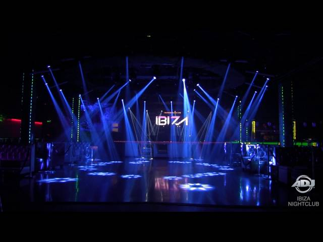 ADJ Installation: Ibiza Nightclub