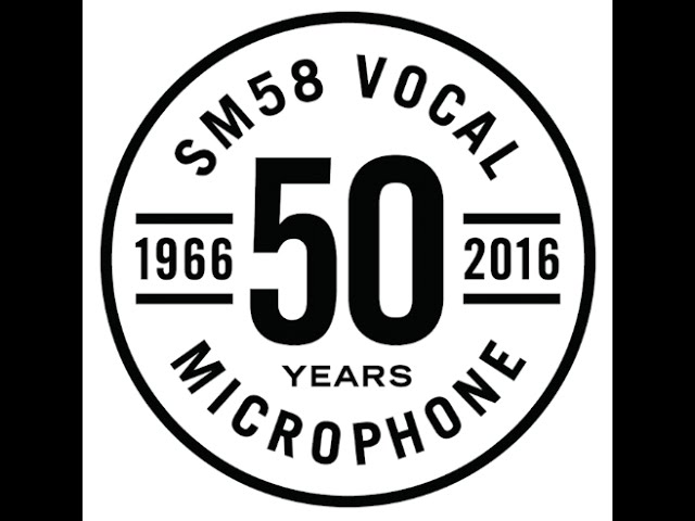 Shure SM58: Born To Perform