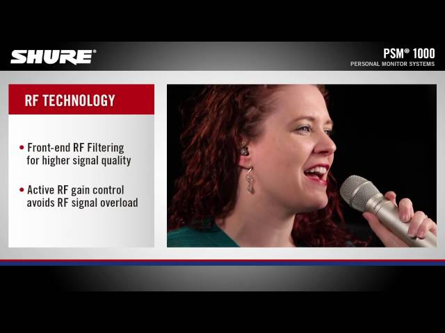 Shure PSM 1000 Product Overview Video
