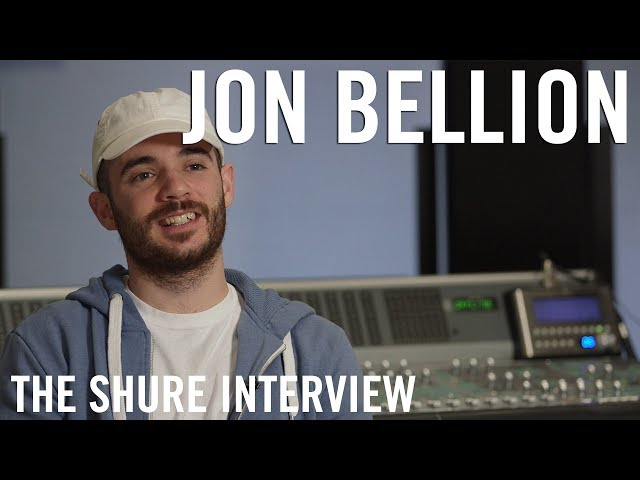 Jon Bellion - The Shure Interview