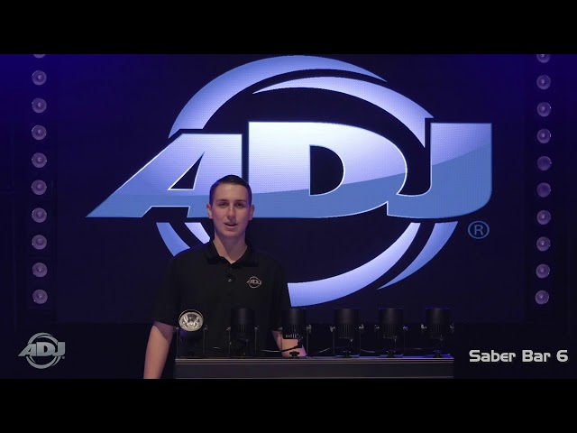 ADJ Saber Bar 6 Features Video