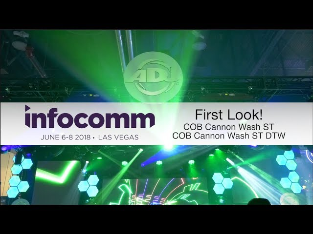 "ADJ ""First Look"" - COB Cannon Wash ST & DW"